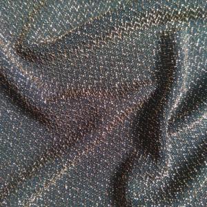 metallic knit