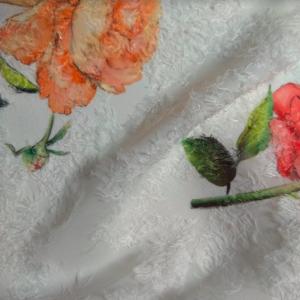 rose fil coupé